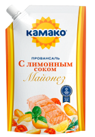Mayonnaise KAMAKO «Provansal with lemon juice»